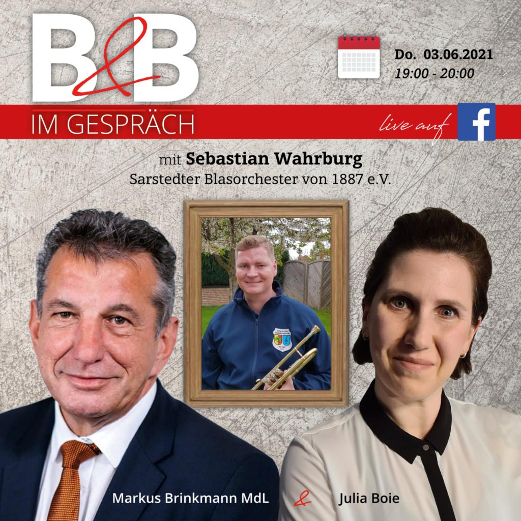 B&B im Gespräch mit Sebastian Wahrburg.